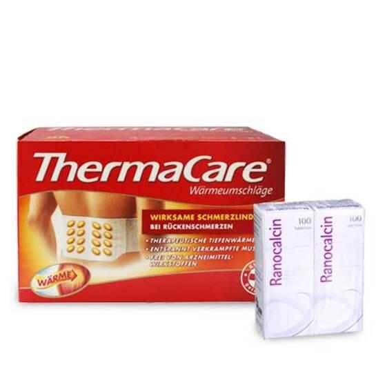 Thermacare Rückenumschläge 6 St + Ranocalcin 200 Tbl - 1