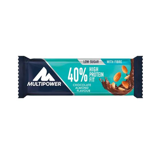 40% High Protein Fit Chocolate Almond Riegel - 1