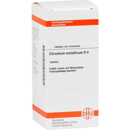 Chromium metallicum D 4 Tabletten - 1