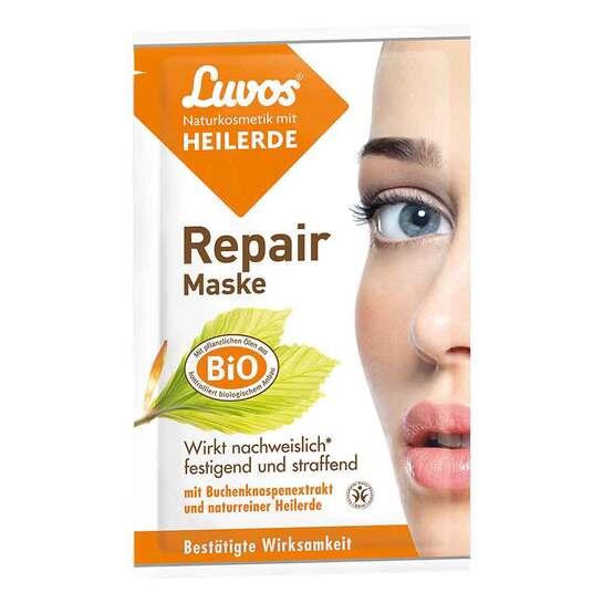 Luvos Naturkosmetik Heilerde Repair Maske - 1