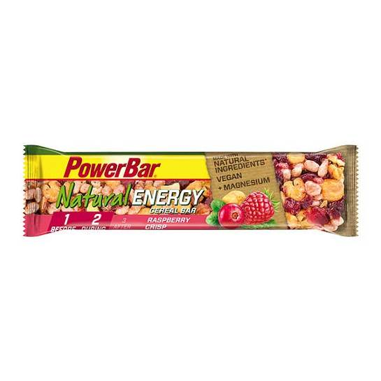 Powerbar Natural Energy Cereal Himbeer-Crisp - 1