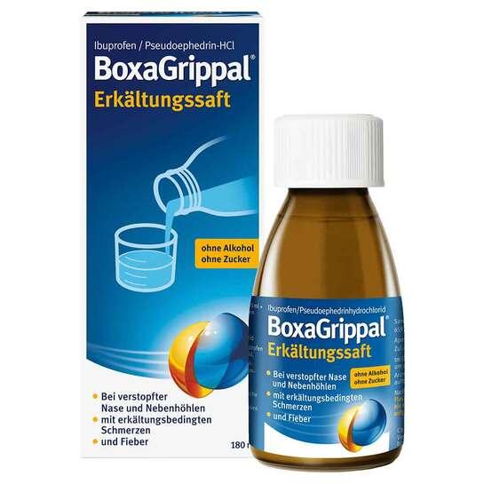 Boxagrippal Erkältungssaft - 1