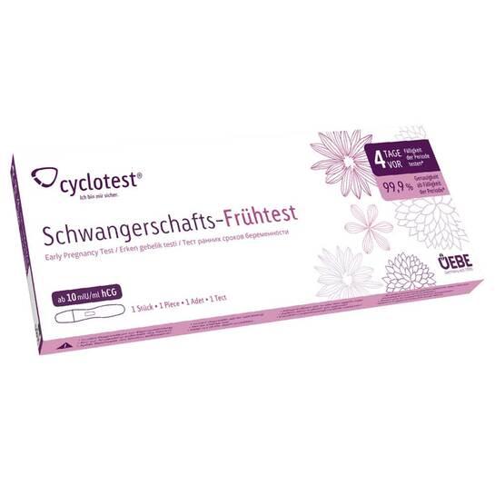 Cyclotest Schwangerschafts-Frühtest 10 Mlu / ml Urin - 1
