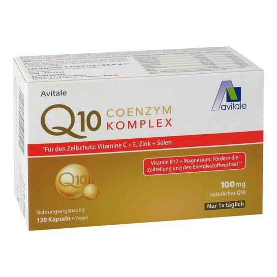 Coenzym Q10 100 mg Kapseln + Vitamine + Mineralstoffe - 2