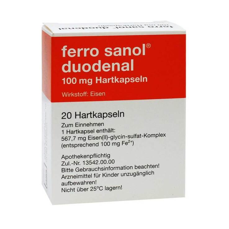 Sanol eisentabletten nebenwirkungen ferro Beipackzettel von