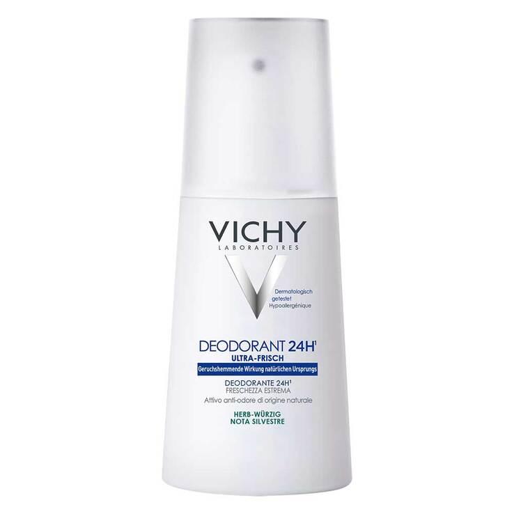 Vichy Deo-Spray 24h mit herb-würzigem Duft