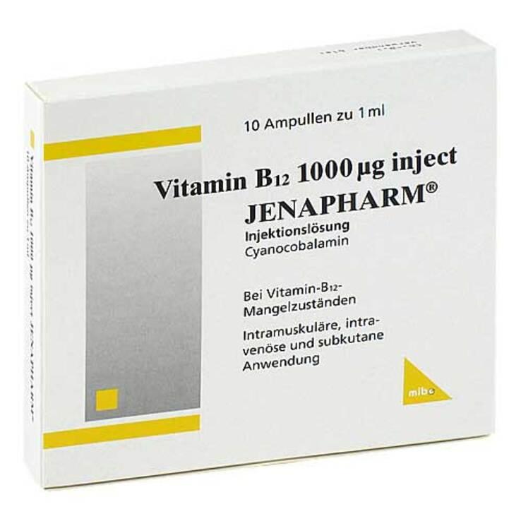Vitamin B12 1000 µg Inject Jenapharm Ampullen Bei Aponeo Kaufen