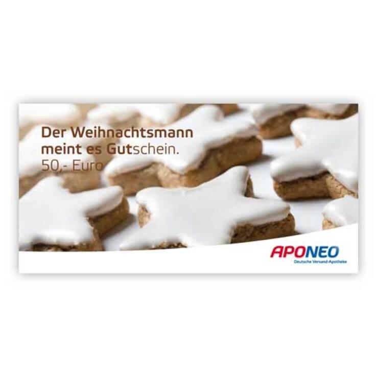 Gutschein Weihnachten 50 Euro bei APONEO kaufen