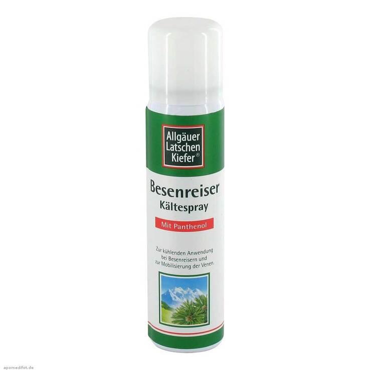 Allgäuer Latschenkiefer Besenreiser Spray