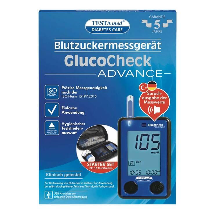 Testamed Glucocheck Advance Dm