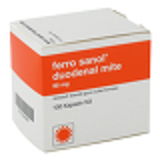 Ferro Sanol duo mite 50mg Hartkapseln mit magensaftresistent überzogene Pellets