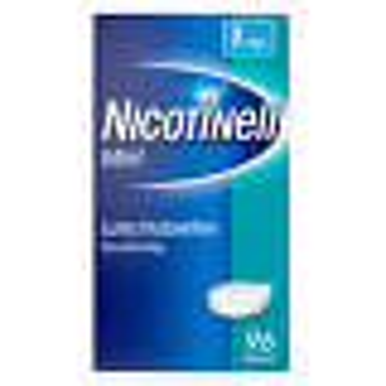 Nicotinell Lutschtabletten 1 mg Mint zuckerfrei